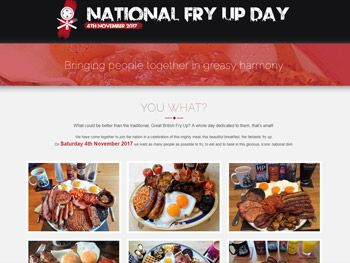 National Fry Up Day
